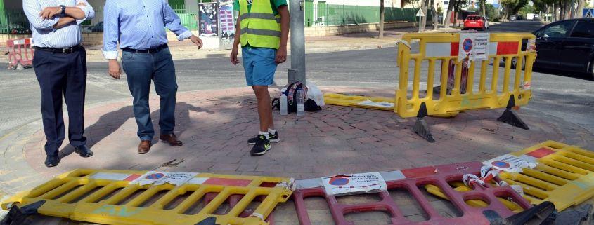 Imagen de obras de asfaltado por ADECA