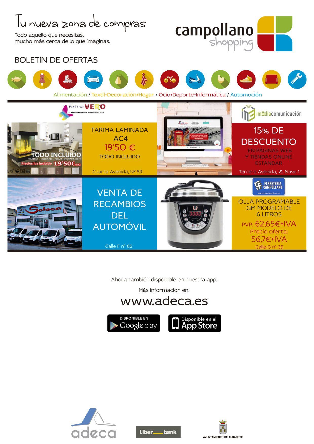 Boletín oficial de ofertas ADECA