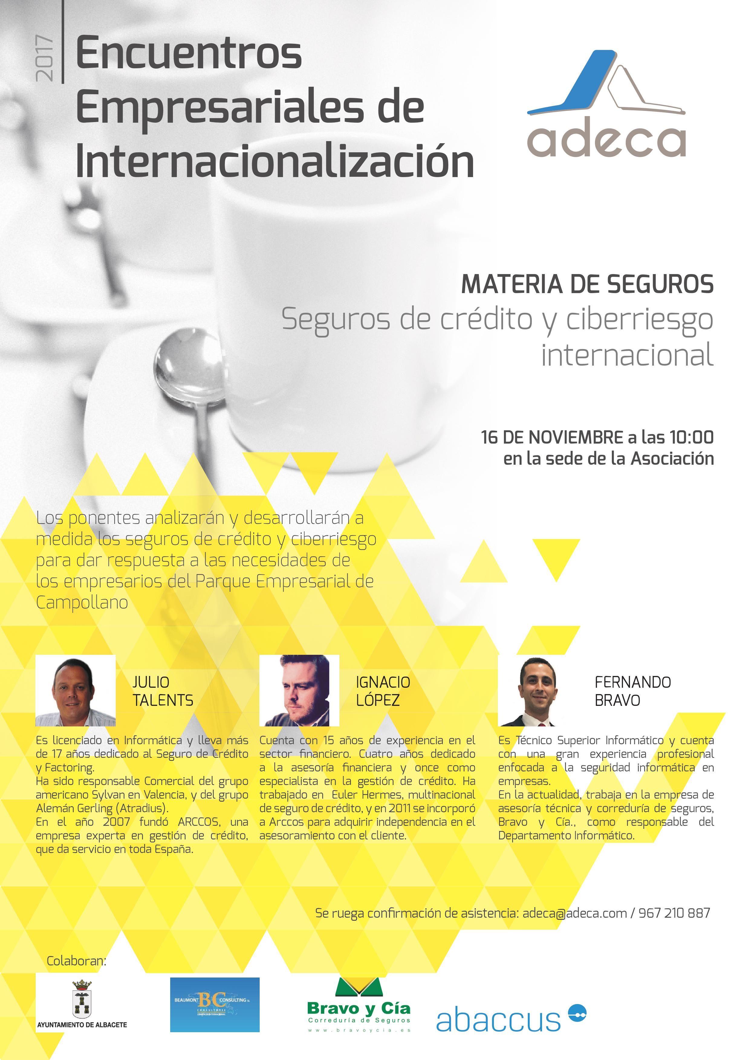 Encuentro Empresarial Bravo y Cía. ADECA