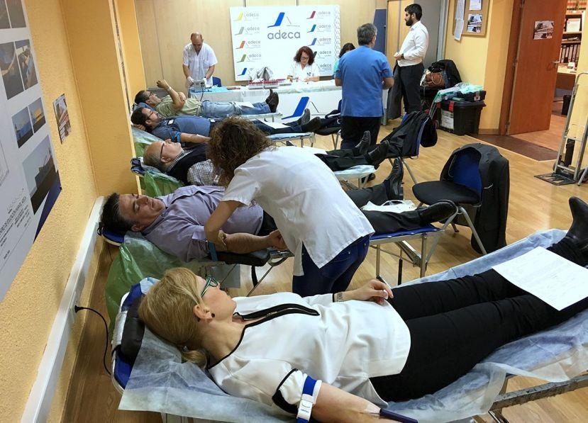 Fotografía de ADECA Donación de Sangre