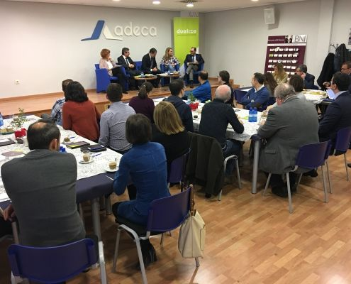 Fotografía de SV Comunicación Desayuno Empresarial de ADECA3