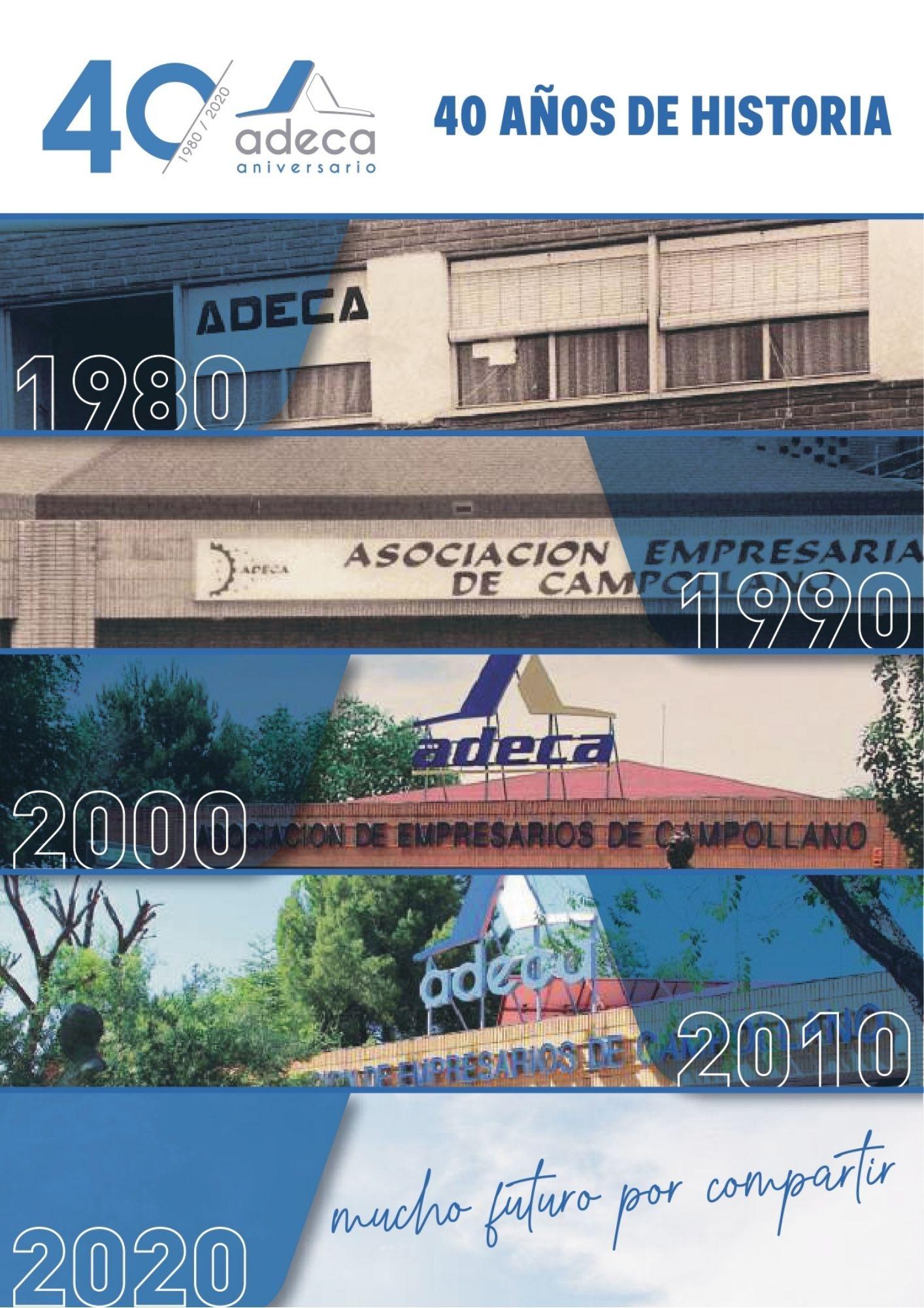 revista 40 aniversario ADECA